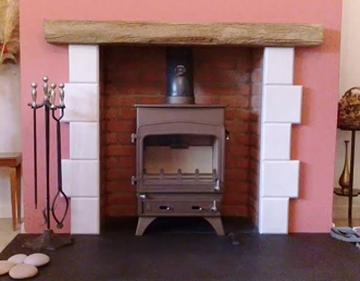 Faraday Stoves working on a Branscombe fireplace